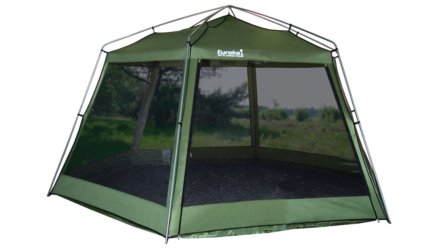 Eureka! Hex XL Screenhouse party tent groen